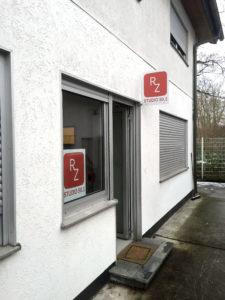 Studioschild RZ - Studio 50.3